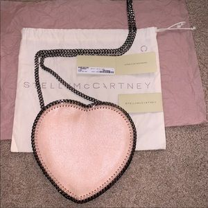 Stella McCartney FALABELLA heart NEW WITH TAGS